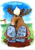 Grädde på Moose 7x9
