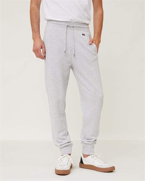 Lexington Ivan Organic Cotton Track Pants, Light Grey Melange