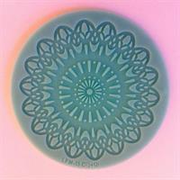 Lace Silikonform Blomst 8