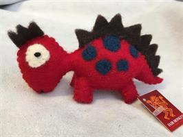 Tovad Dinosaurie röd