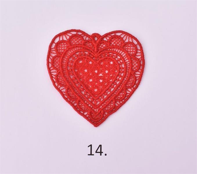 Spets hjärta