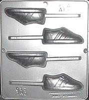 Plastform Joggesko m/pinne