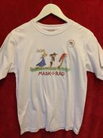 T-shirt Maskirad 130-140 vit