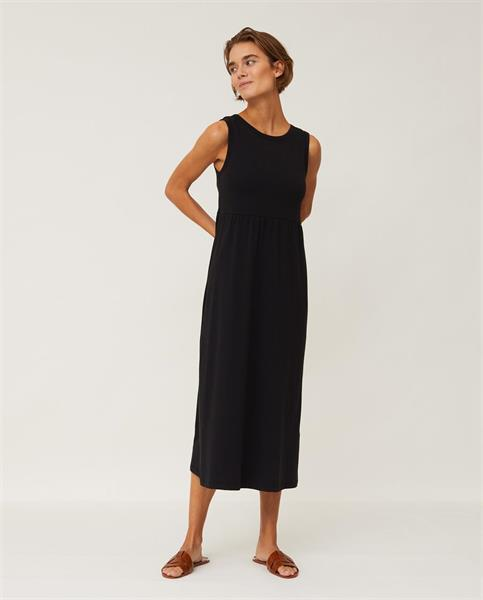 Lexington Nadia Jersey Long Dress, Black