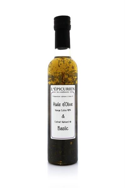 Olive Oil & Basil 250ml