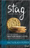 Water Biscuit w/ Salt & Black Pepper150g