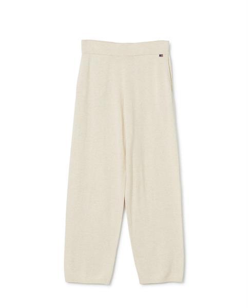Lexington Des Organic Cotton/Tencel Knitted Pants, Light Beige Melange
