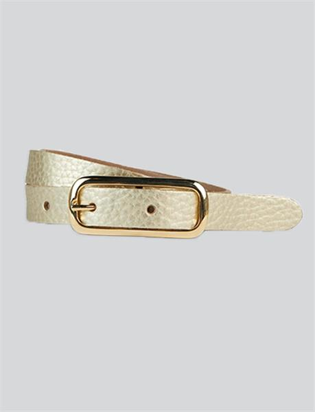 Summum Woman Small Fancy Belt, Gold