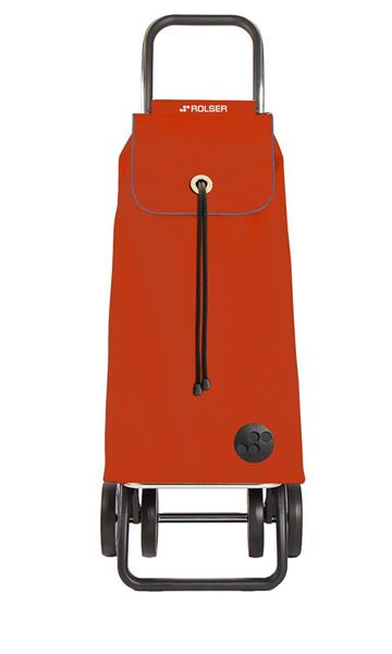 Shoppingvagn Rolser 2+2 Logic MF mandarina