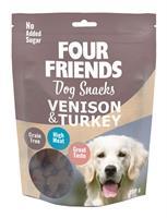 Four Friends Dog Snacks Venison & Turkey 200 g