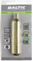 CO2-patron 38 gram m. säkerhetsstift