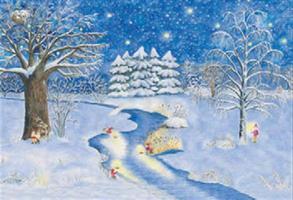 Luonnon jouluvalot-adventtikalenteri
