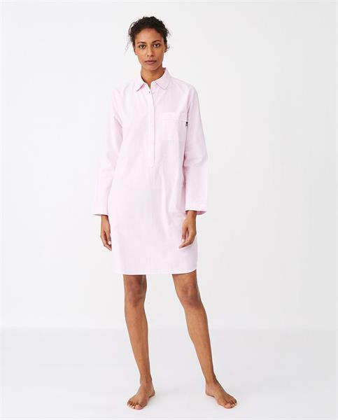 Lexington Womens Nightshirt, Pink/ White