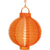 Solcell Lantern orange Star Trading