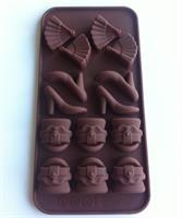 Silikonform sjokoladefigurer 2