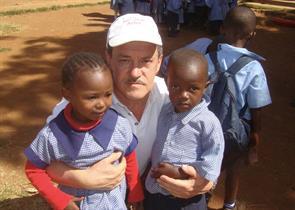 2012 - Two children from Kibera Nursary School
