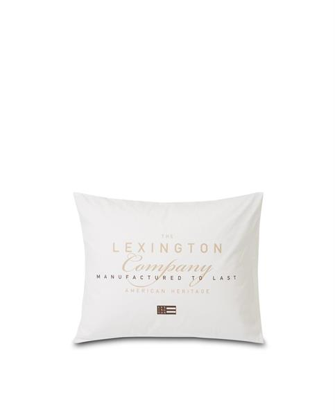 Lexington Printed Cotton Poplin Pillowcase