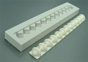 Silikonform AM Patterned Bead Border (AM052)