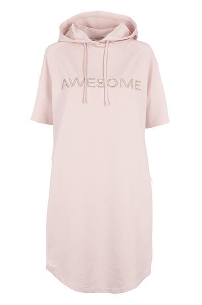 Prepair Ava Sweat Dress, Light Rose