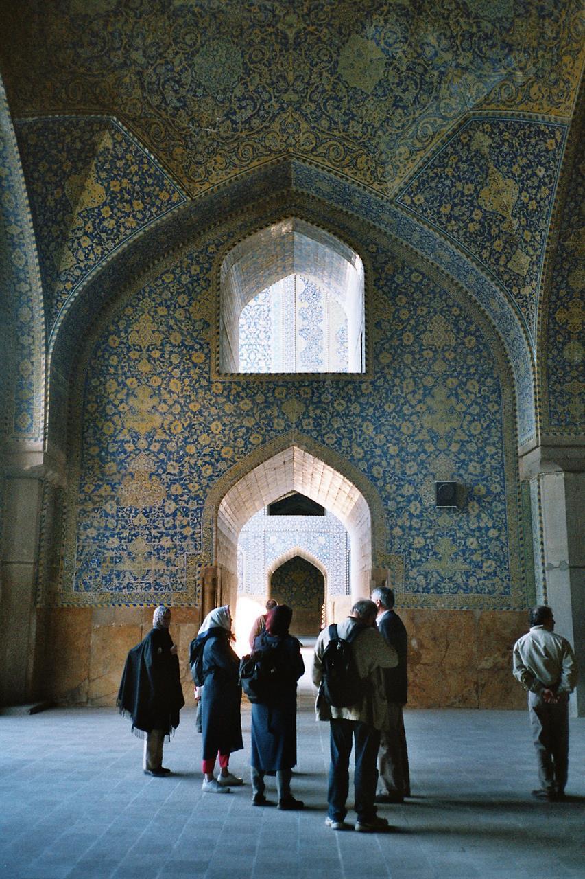 Fantastisk mosaikk i Isfahans moskéer