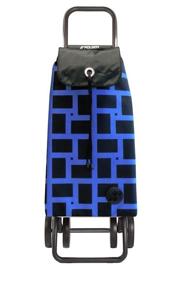 Shoppingvagn Rolser 2+2 Logic Geometric azul