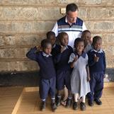 Kibera Nursary - Together with Ulf