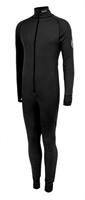 XC-Suit, hel dress m/3/4 hals, gl.lås foran - M