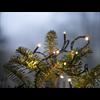 Ljusslinga serie micro LED svart sladd 3m Star Tra