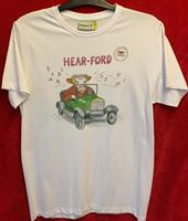 T-shirt Hearford M vit