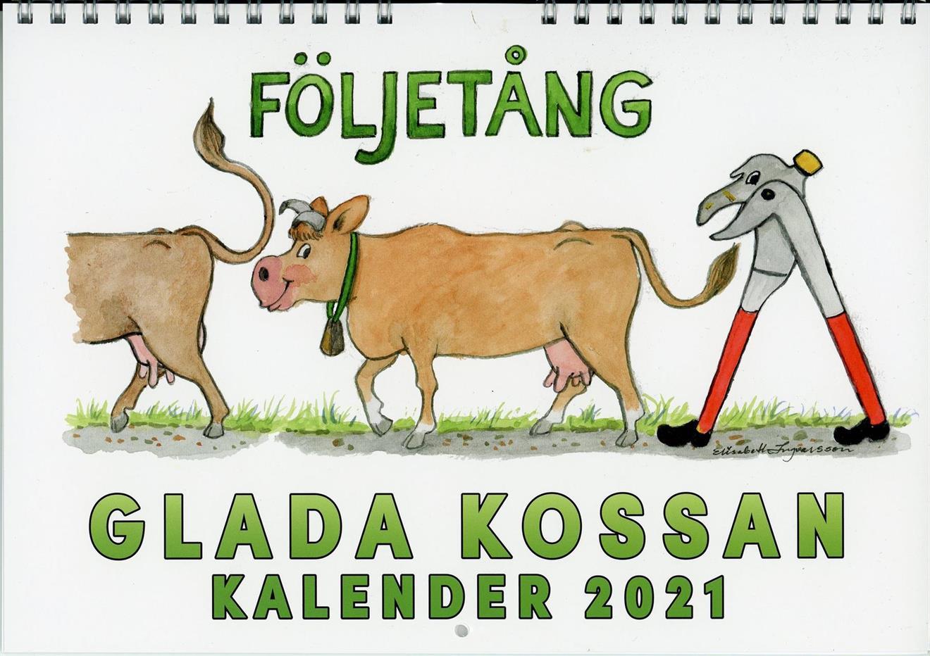 Glada Kossans Kalender 2021