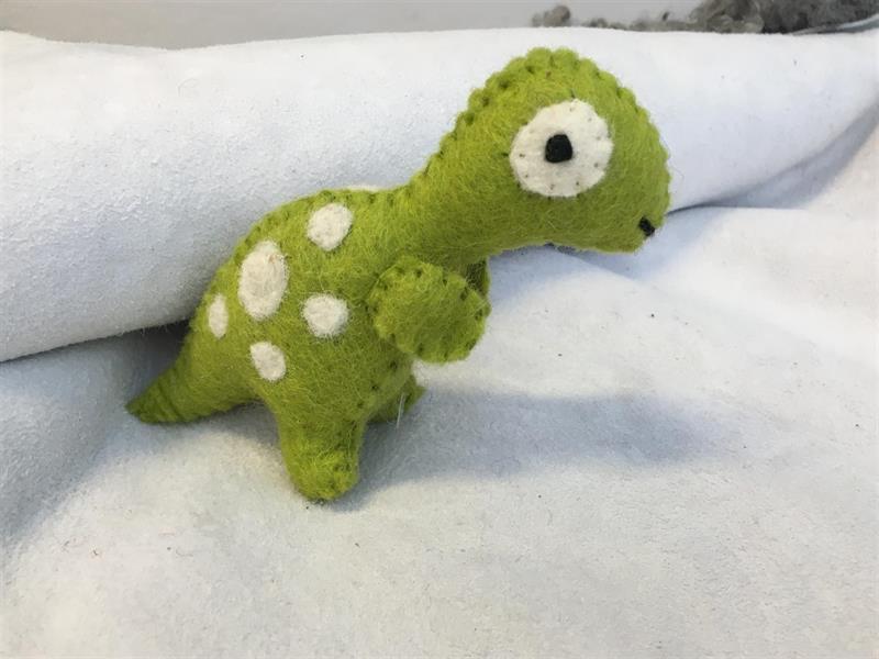Tovad Dinosaurie ljusgrön