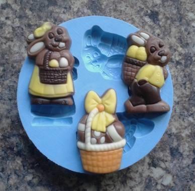 Silikonform Easter set 1 NM