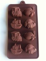 Silikonform sjokoladefigurer 16 (B0047)