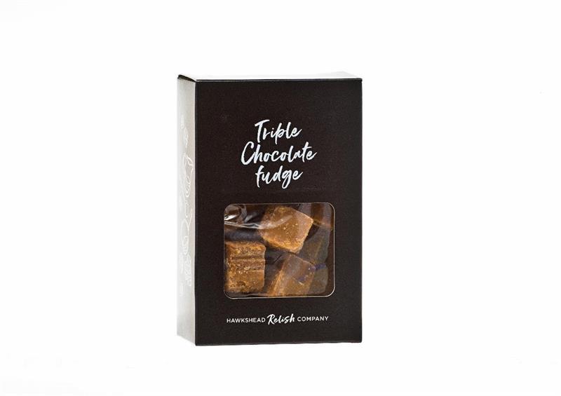 Boxed Triple Chocolate Fudge 150g