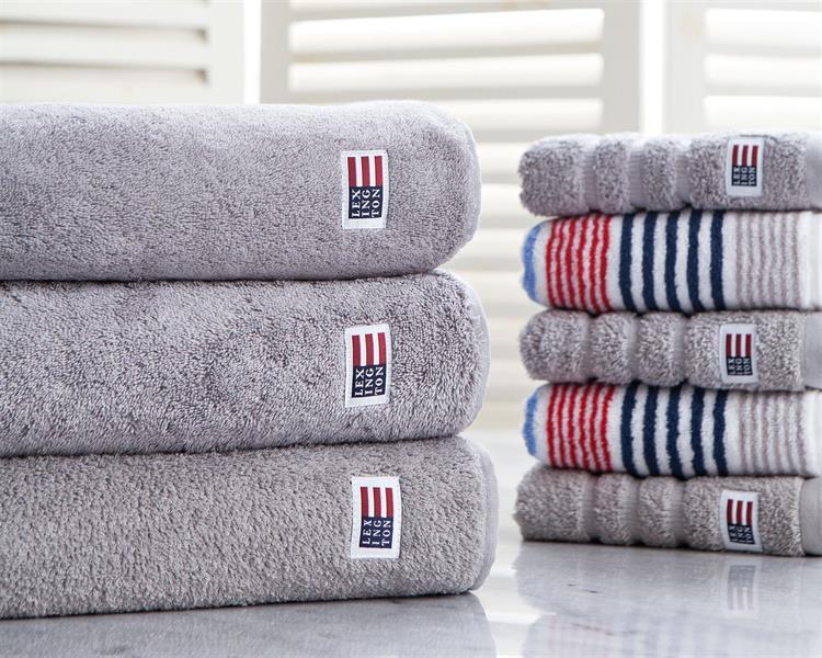 Lexington Original Bath Towel Dark Gray, 70 x 130 cm