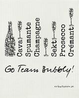 "Disktrasa ""Go team bubble"" Erika Tubbin"