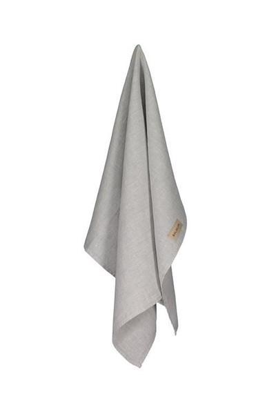 Balmuir Kitchen towel, 50 x 70 cm, light grey melange