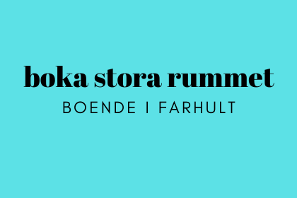 Boka det större rummet för övernattning i Farhult, Höganäs