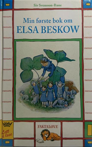 Min første bok om ELSA BESKOW