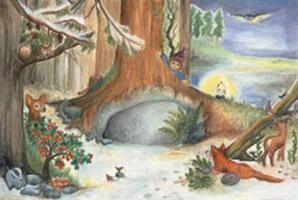 Joulu metsässä-adventtikalenteri
