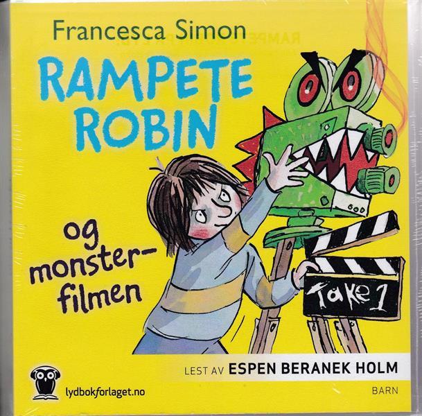 Rampete Robin og monsterfilmen (LYDBOK)