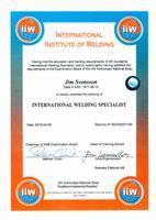 Nu har vi även IWS-kompetens (Internationell svetsspecialist)