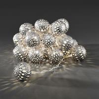 Ljusslinga silverbollar Konstsmide