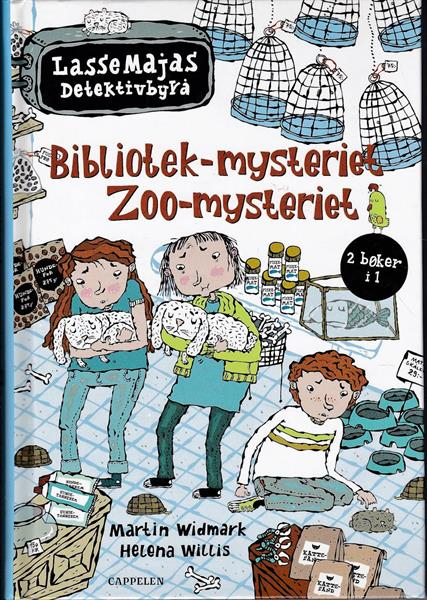 LasseMajas Detektivbyrå: Bibliotek-mysteriet og Zo