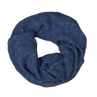 TUBHALSDUK WINTER BLUE HERRINGBONE