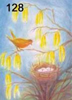 Pesivä lintu kortti
