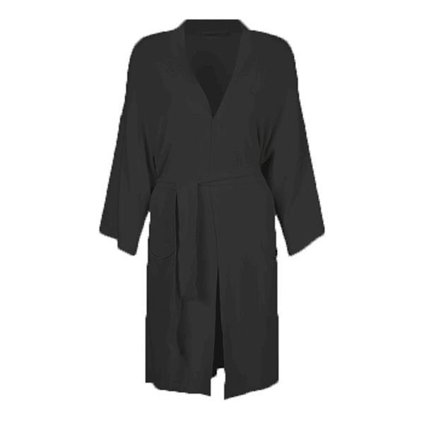 Summum Woman Long Cardigan Basic Knit, Black