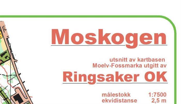 Årets siste treningsløp er nattløp i Moskogen torsdag den 24.sept.