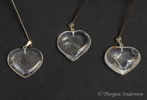 Kristallhänge Bergskristall Hjärta
