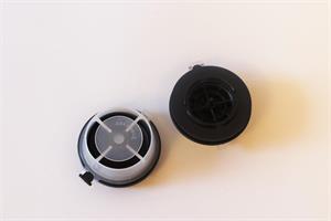 DeVilbiss Exhalation Valve/Ventiler til halvmaske